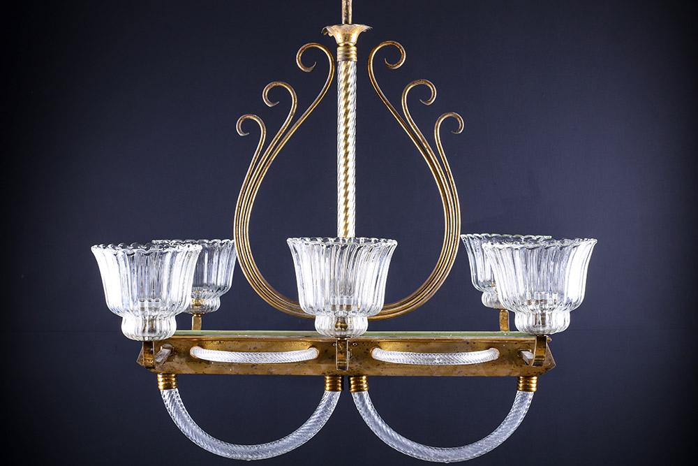 Barovier Murano Glass Pendant   Murano glass, Chandelier